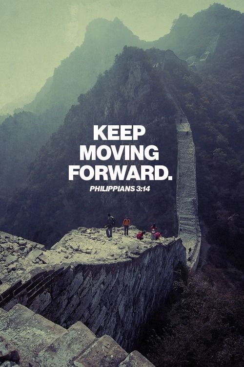 Hold On...Move Forward with God!