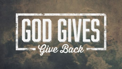 Giving To God!