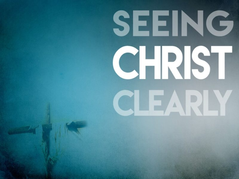 Open Our Eyes To See Jesus.
