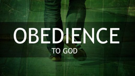 Being Obedient on God's Terms