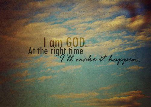 God Makes It Happen - Part 2