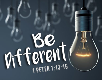 God Made You To Be Something Different