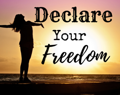 Declare His Favor & Shout Your Freedom!
