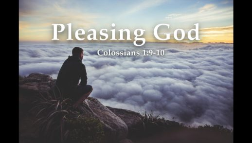 Pleasing God with Your Life.