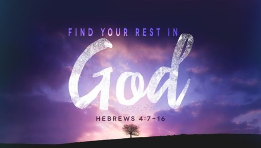 Learning to Find Rest in God.