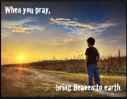 Bringing Heavens Connection To The Earthly Realm