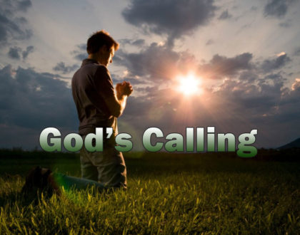 Walking Tall In God's Call For Your Life