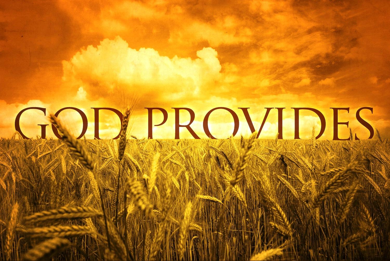 God Provides For Our Lives
