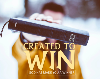 God Says You Are A Winner In Him