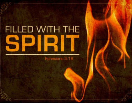 Being Filled With the Spirit